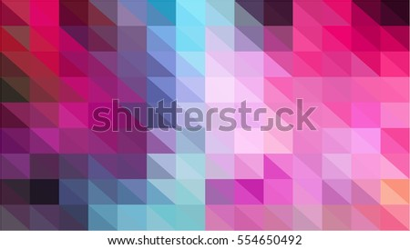 A vector photo of multi-colour in purple shade of polygonal texture.
