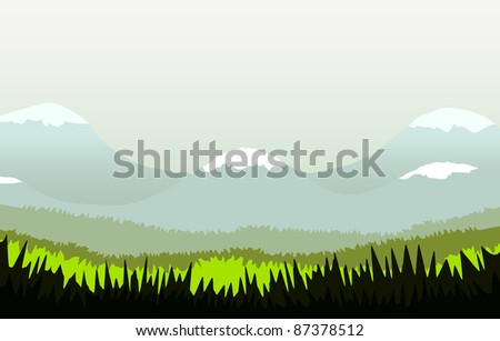 A vector with a surprised Rabbit. Can be recolored or scaled without problems and quality loss - stock vector