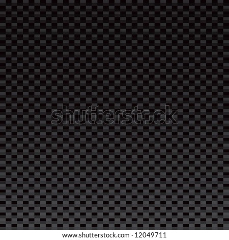 A vectorized version of the highly popular carbon fiber material.  This version tiles seamlessly from left to right. - stock vector