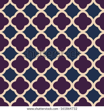 A vintage vector simple pattern tricolor - stock vector
