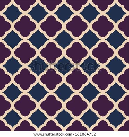 A vintage vector simple pattern tricolor - stock vector