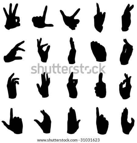 A wide range of hand movements