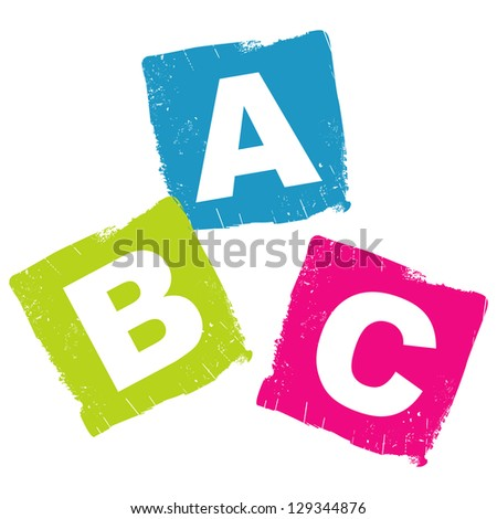 ABC concept - stock vector