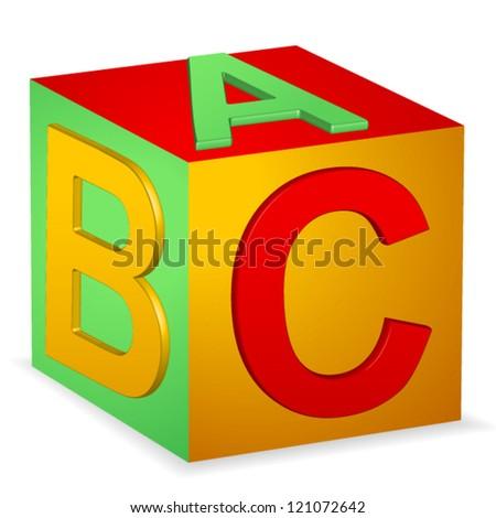 Abc Vector - stock vector