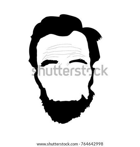 abraham lincoln beard clip art 47789 movieweb