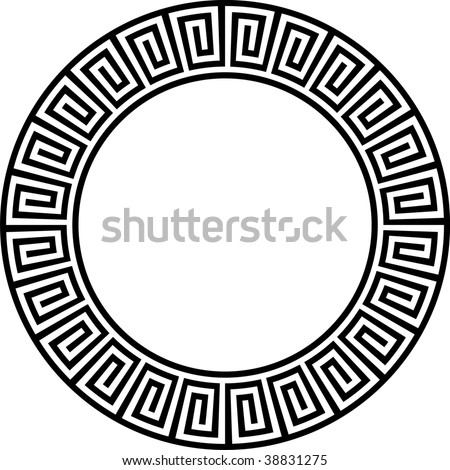 Abstract ancient design - stock vector