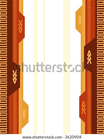 Abstract Arrow Background 2 - stock vector