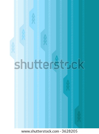 Abstract Arrow Background 3 - stock vector