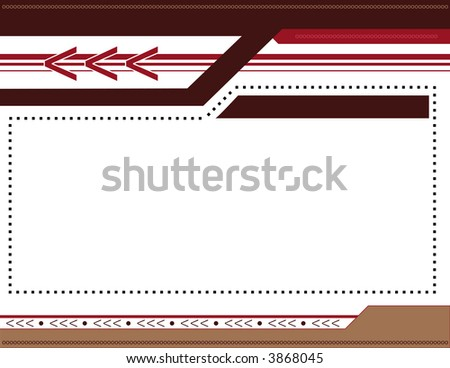 Abstract Arrow Background 5 - stock vector