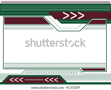 Abstract Arrow Background 8 - stock vector