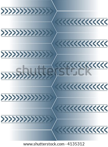 Abstract Arrow Background 7 - stock vector