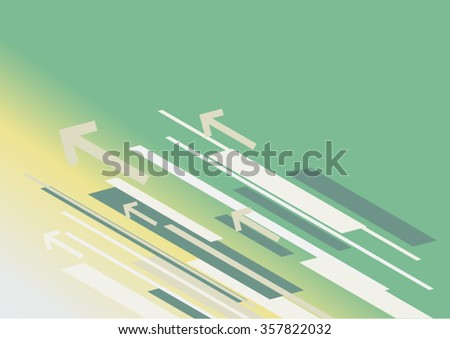Abstract arrows background - Illustration - stock vector