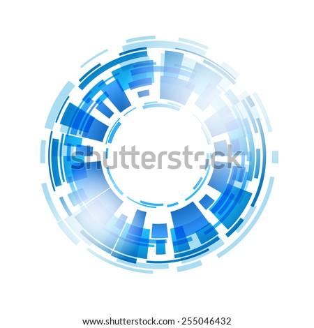 Abstract art design. Vector illustration. - stock vector