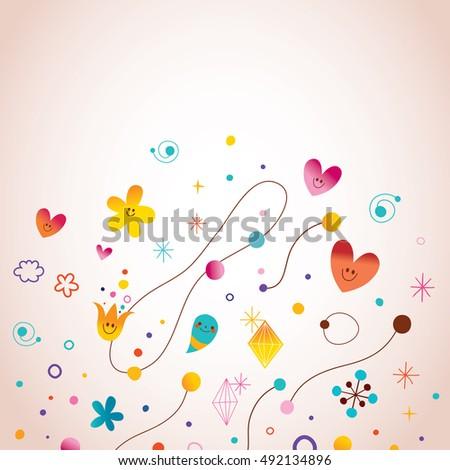 Dream big little one nursery art stock vector 365319155 for Cute abstract art