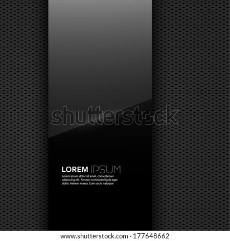Abstract back background with a pattern of geometric shapes. With the effect of the spectrum. Vector. for advertising, classified ads, layouts, web, internet, website, cover, booklet, magazine, banner - stock vector