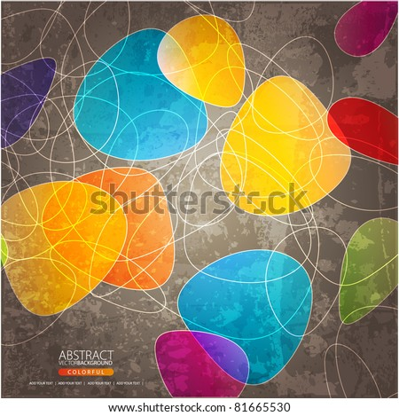 abstract background - stock vector