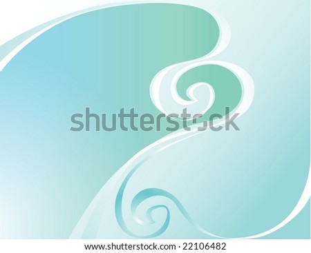 Abstract background, all parts closed, editing is possible. - stock vector