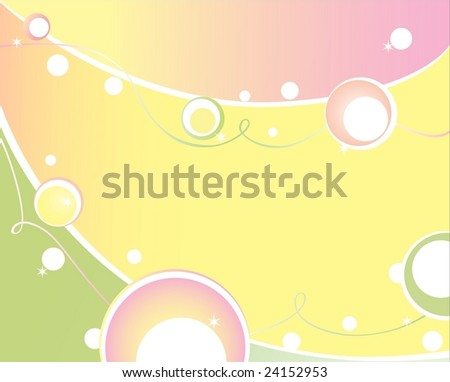 Abstract background, all parts closed, EPS8 format, editing is possible - stock vector