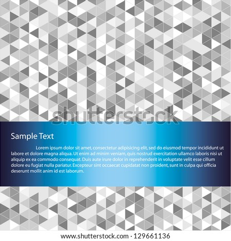 Abstract background and space for sample text. Vector - stock vector