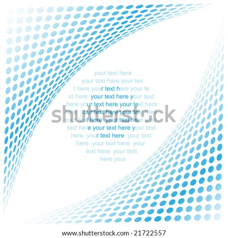 Abstract background. Blue set. Simply change. - stock vector