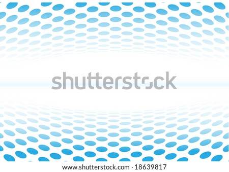 Abstract background. Blue set. Simply change. Other abstract backgrounds you can see in my portfolio. - stock vector