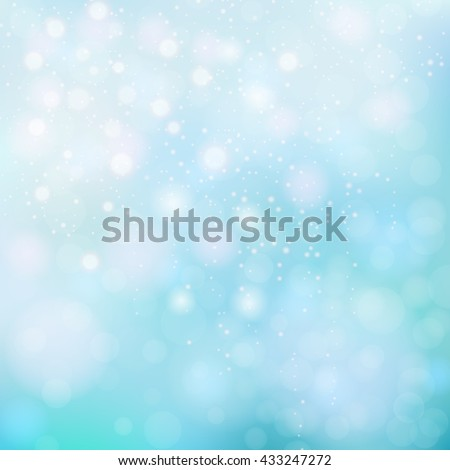 Abstract background bokeh. Bokeh lights. Blue background bokeh. Bokeh abstract. Pattern for design of invitations, presentations and websites. Vector illustration. Abstract background. Abstract.  - stock vector