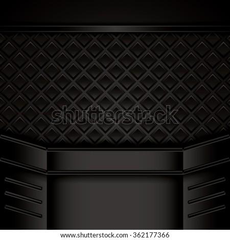 Abstract background, brochure, vector - stock vector
