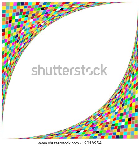 Abstract background. Color set. Simply change. Other abstract backgrounds you can see in my portfolio. - stock vector