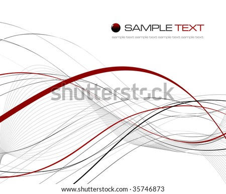 Abstract background composition - vector illustration - stock vector
