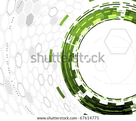 Abstract background concept. Vector illustration - stock vector