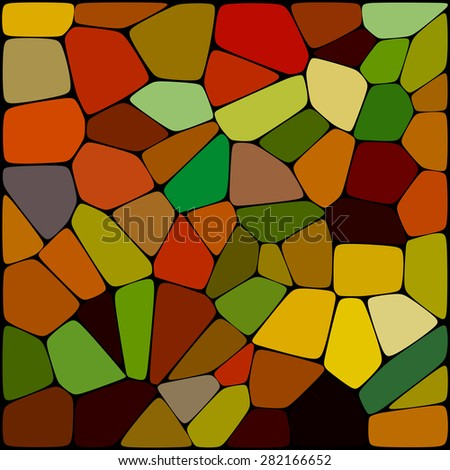abstract background consisting of of geometrical shapes