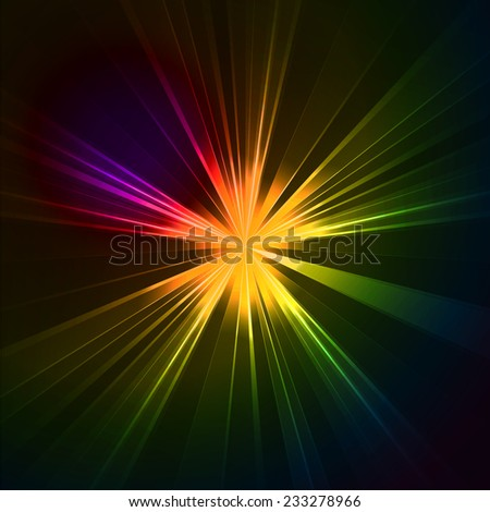 Abstract background cosmic star light