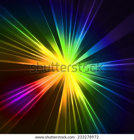Abstract background cosmic star light - stock vector