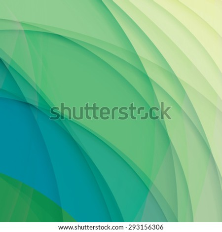 Abstract background created with colorful wavy stripes. Vector - stock vector