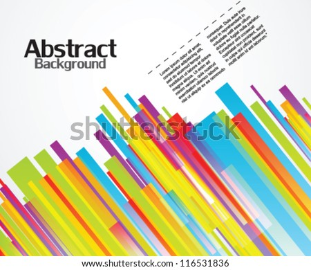 Abstract background diagonal lines - stock vector