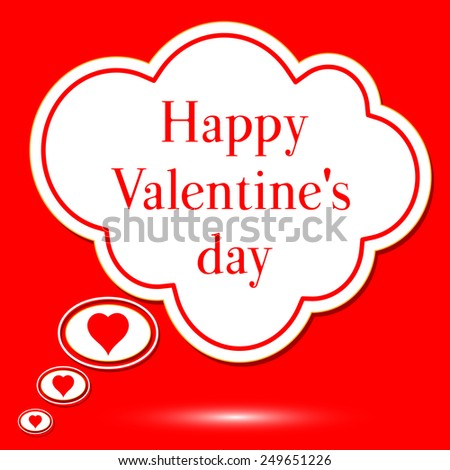 abstract background for Valentine's Day, elements for design, vector illustration