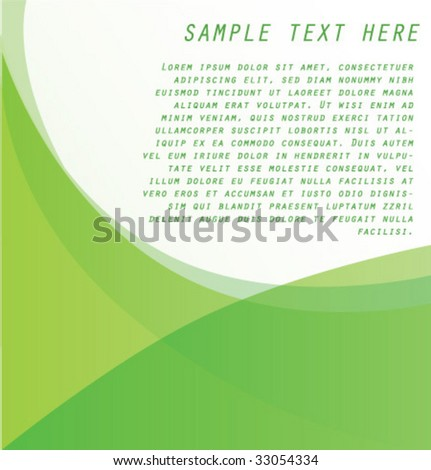 Abstract background for your business artwork - stock vector