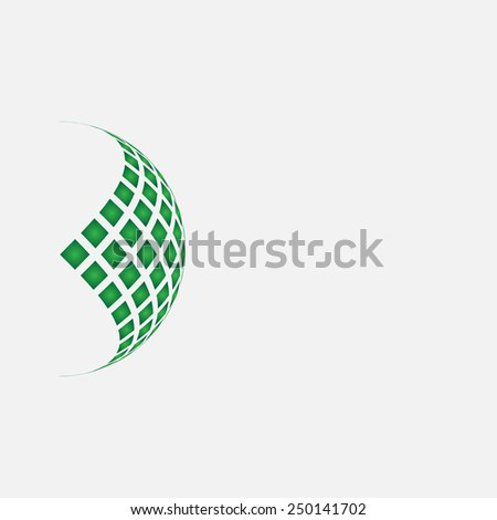Abstract background for your text and logo - stock vector illustration  - stock vector