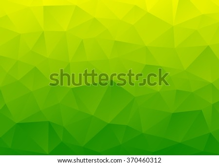 Abstract background, geometric pattern, geometric shapes, geometric art, geometric background, mosaic pattern, geometric abstract, graphic design, green image, vector illustration - stock vector