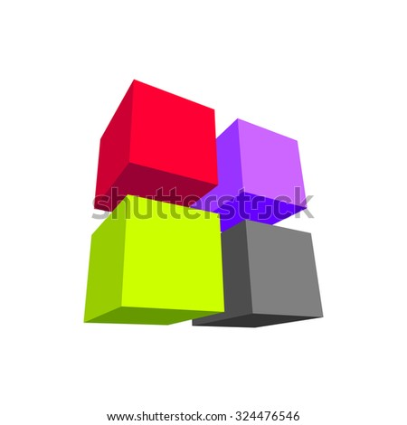 Abstract background graphic design vector illustration colorful