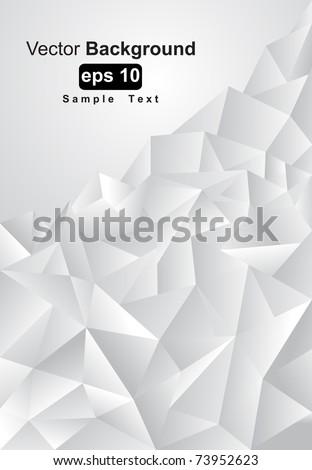 Abstract background gray toned, vector illustration - stock vector