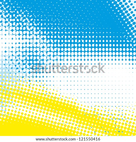 abstract background halftone effect - stock vector