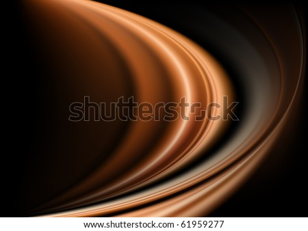 Abstract background in golden tones vector