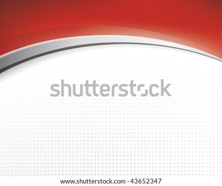 Abstract background in red color - stock vector