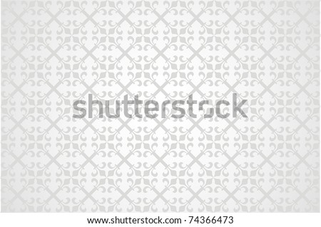 Abstract background in the form of a pattern from decorative elements - stock vector