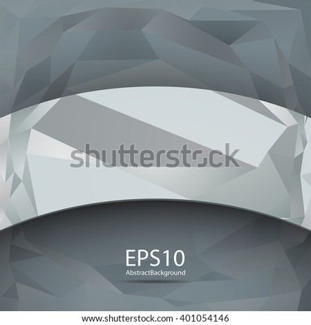 Abstract background in the geometric style.