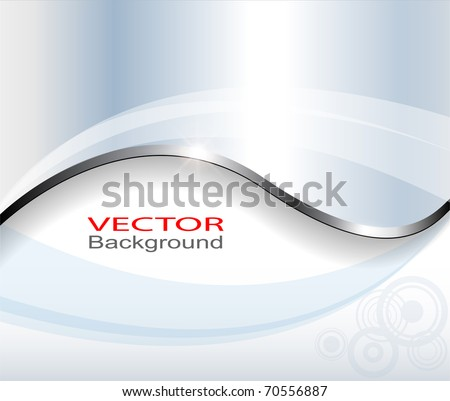 Abstract background light blue, vector. - stock vector