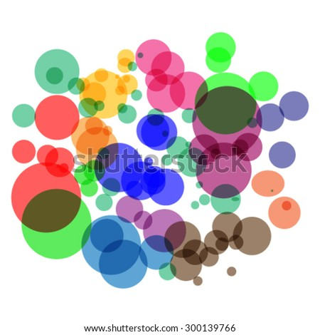 Abstract background , like a bubble for design - vector illustration