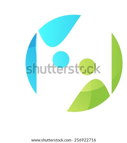 Abstract background. Logo design. Stock vector illustration light-box   - stock vector
