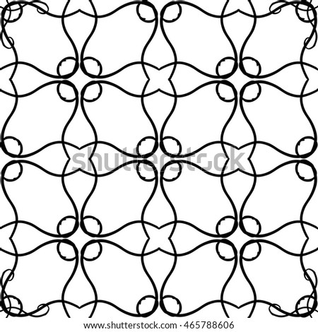 abstract background mosaic asian white black lace